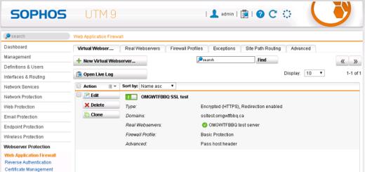 Sophos UTM and Cisco IOS IPsec VPN | OMGWTFBBQ!